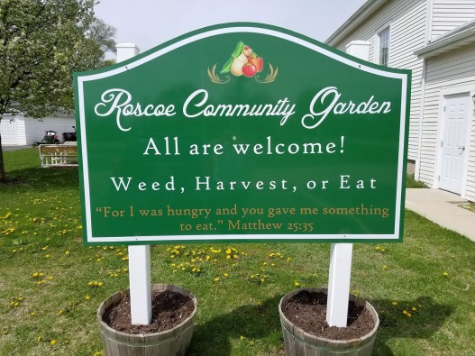 Community Garden – First Congregational Community Church of Roscoe